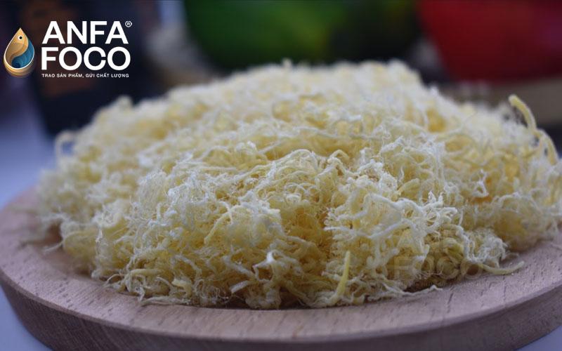 Quy trình sản xuất chà bông gà Anfafoco tiêu chuẩn