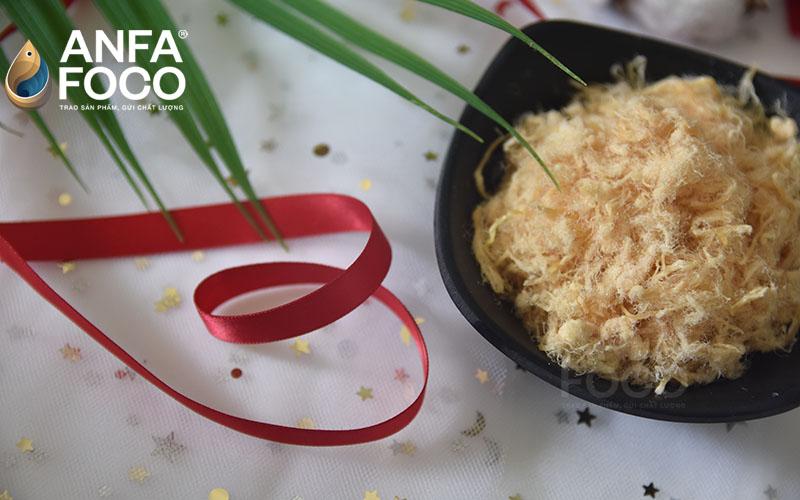 Quy trình sản xuất chà bông heo Anfafoco tiêu chuẩn